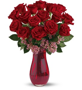 Teleflora's Elegant Love Bouquet in Belford NJ, Flower Power Florist & Gifts