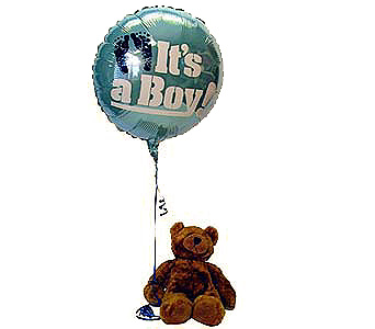 It's A Boy Bear Local and Nationwide Guaranteed Delivery - GoFlorist.com