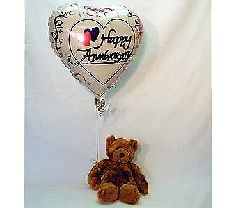 Anniversary Bear Local and Nationwide Guaranteed Delivery - GoFlorist.com