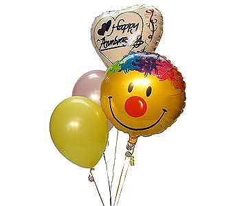 Happy Anniversary Balloon Bouq Local and Nationwide Guaranteed Delivery - GoFlorist.com