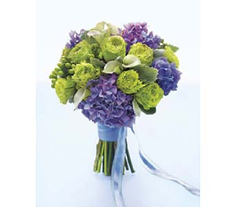 Purple & Green Bouquet with Callas in Perrysburg & Toledo OH - Ann Arbor MI OH, Ken's Flower Shops