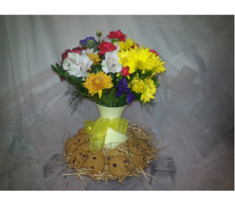 Flowers and Cookies in New Paltz NY, The Colonial Flower Shop