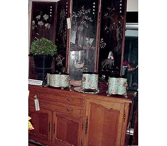 Fine Antiques in San Antonio TX, Allen's Flowers & Gifts