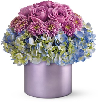 Teleflora's Lovely in Lavender in Boston MA, Exotic Flowers