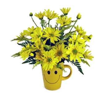 Smiley Mug in Indianapolis IN, 317 Flowers