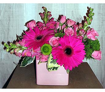 Pretty in Pink in Dallas TX, Petals & Stems Florist