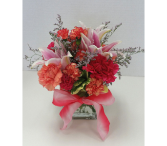 Blushing Lady in Raleigh NC, Gingerbread House Florist - Raleigh NC