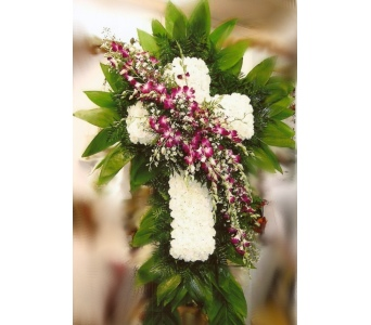Eternal Love Cross in Hialeah FL, Bella-Flor-Flowers