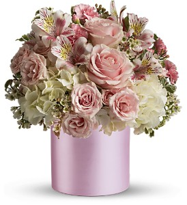 Teleflora's Sweet Pinks Bouquet in Canisteo NY, B K's Boutique Florist