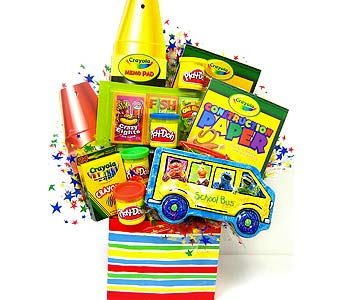 KGB11  ''Sesame Street'' Crayola Gift Basket in Oklahoma City OK, Array of Flowers & Gifts