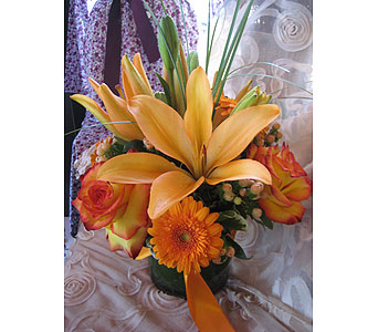 Orange Color Therapy in Massapequa Park NY, Bayview Florist & Montage  1-800-800-7304