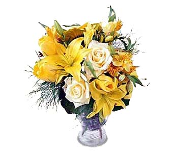 Vase of Sunshine in New York NY, CitiFloral Inc.