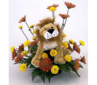 Caramel Lion in Indianapolis IN, Gillespie Florists