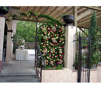 Floral Arch in Fort Worth TX, TCU Florist
