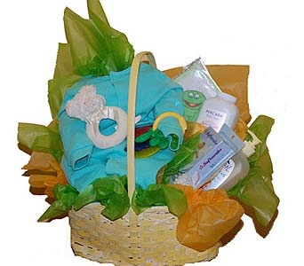 Baby Gift Basket in Scarborough ON, Helen Blakey Flowers