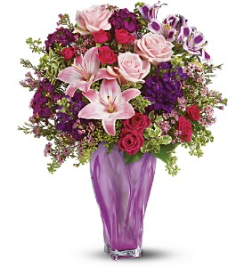 Teleflora's Lavender Elegance Bouquet in Lake Worth FL, Flower Jungle of Lake Worth