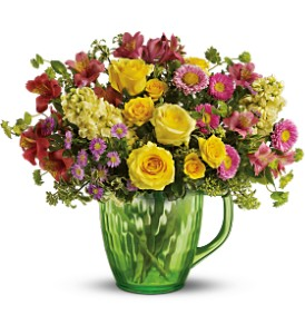 Spring Pitcher Bouquet Deluxe in Fife WA, Fife Flowers & Gifts