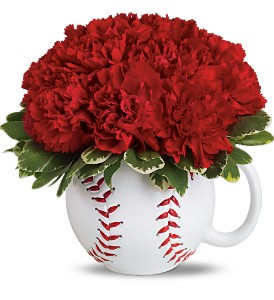 Teleflora's Play Ball Bouquet in Houston TX, Village Greenery & Flowers