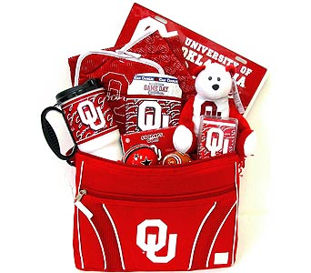 OU35 ''University of Oklahoma'' Gift Basket in Oklahoma City OK, Array of Flowers & Gifts