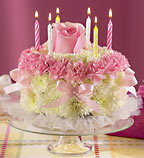 Birthday Flower Cake in Fife WA, Fife Flowers & Gifts