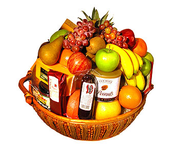 Fruit and Gourmet Basket in Stamford CT, Stamford Florist