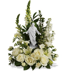 Teleflora's Garden of Serenity Bouquet in Purcell OK, Purcell Flowers & Gifts