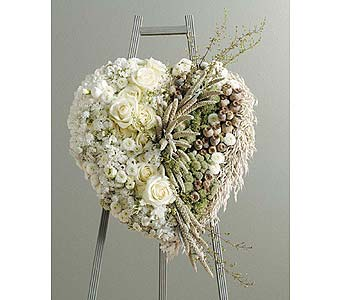Love of Nature Heart Wreath in Coplay PA, The Garden of Eden