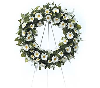 Daisy Wreath in Coplay PA, The Garden of Eden