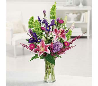 Stargazer Garden Bouquet in Coplay PA, The Garden of Eden