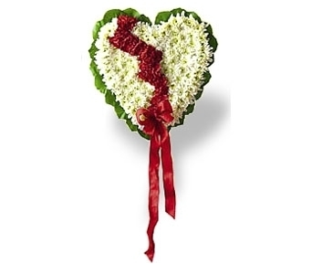 Broken Heart in Rock Island IL, Colman Florist