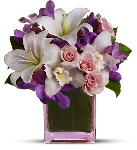 Teleflora's At Last in Mooresville NC, All Occasions Florist & Boutique<br>704.799.0474