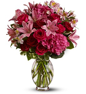 Teleflora's Head Over Heels in Weymouth MA, Bra Wey Florist