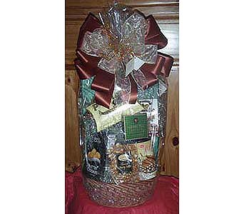 Gourmet Basket LG in Staten Island NY, Buds & Blooms Florist