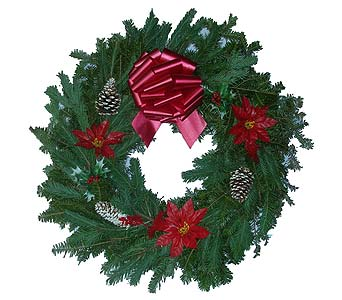 Decorated Wreath in Brooklyn NY, David Shannon Florist & Nursery