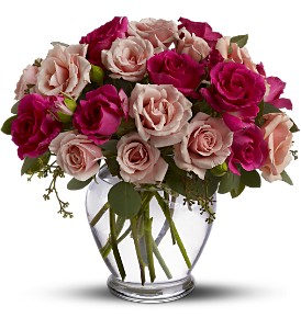 Spray Roses are Pink in Friendswood TX, Lary's Florist & Designs LLC