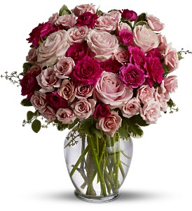 Spray Roses are Pink Premium in Los Angeles CA, Haru Florist