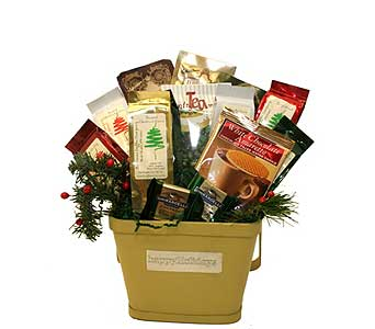 Holiday Gourmet Coffee Basket in Birmingham AL, Norton's Florist