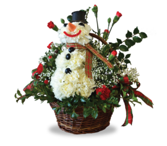 Frosty in Depew NY, Elaine's Flower Shoppe