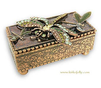 Dreamer Dragonfly Box in Lake Forest CA, Cheers Floral Creations