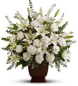 Teleflora's Sincere Serenity in Orange CA, Main Street Florist