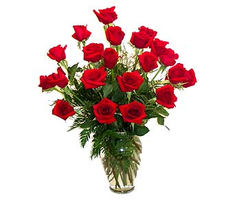 Patterson''s Two Dozen Rose Special in Big Rapids, Cadillac, Reed City and Canadian Lakes MI, Patterson's Flowers, Inc.