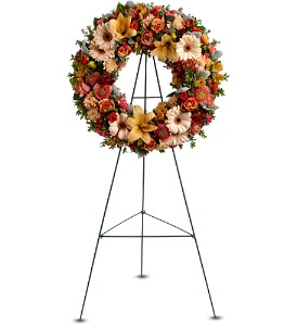 Wreath of Remembrance in Salt Lake City UT, Huddart Floral