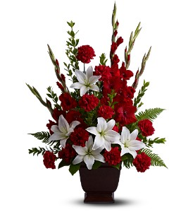 Teleflora's Tender Tribute in Augusta GA, Martina's Flowers & Gifts