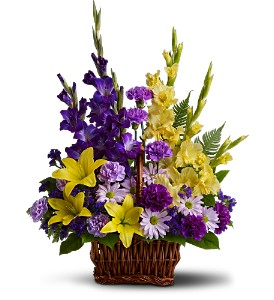 Basket of Memories in Hudson, New Port Richey, Spring Hill FL, Tides 'Most Excellent' Flowers