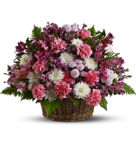Garden Basket Blooms in Middlesex NJ, Hoski Florist & Consignments Shop