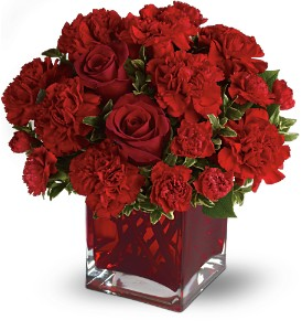Teleflora's Precious Love - Deluxe with Red Roses in Covington KY, Jackson Florist, Inc.