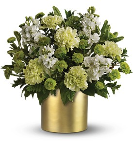 Teleflora's Touch of Gold Bouquet in Canisteo NY, B K's Boutique Florist