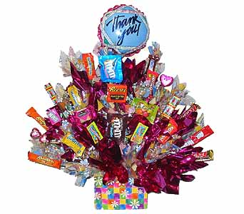 SEC41 BIG THANKS  ( Candy Bouquet) in Oklahoma City OK, Array of Flowers & Gifts
