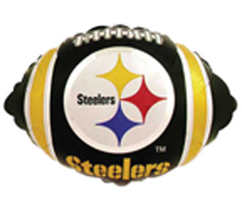 Pittsburgh Steelers Mylar Ball in Norristown PA, Plaza Flowers