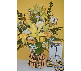 Terrible Towel Bouquet in McKees Rocks PA, The Flowersmith